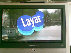 #layar is on tv!